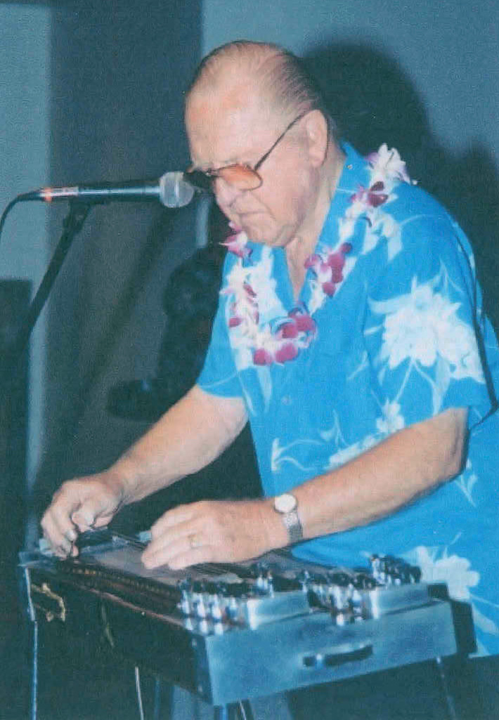 Jerry Byrd plays Steel Guitar at a Hawaiian Convention